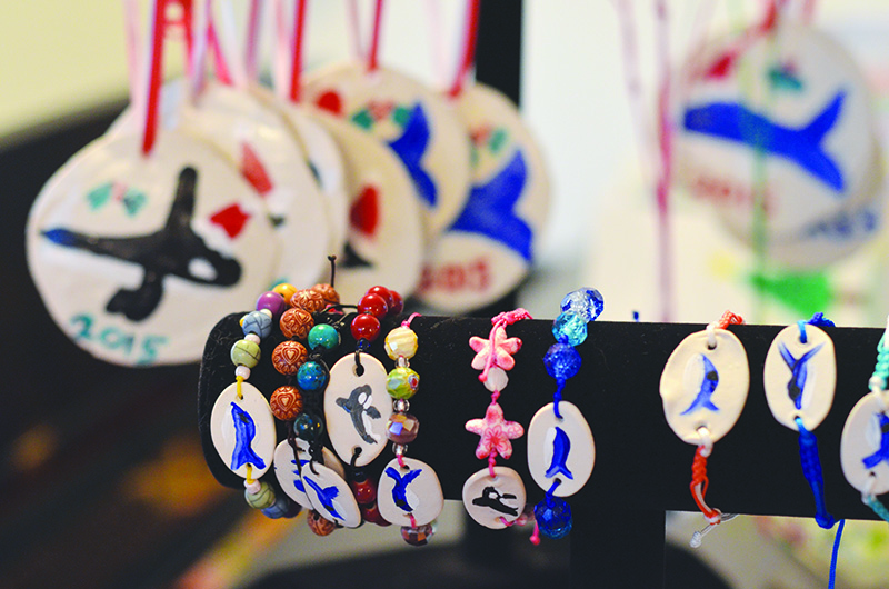 Eva Ulreich's crafty creations can be purchased at Facebook.com/EvaSavesTheWhales.