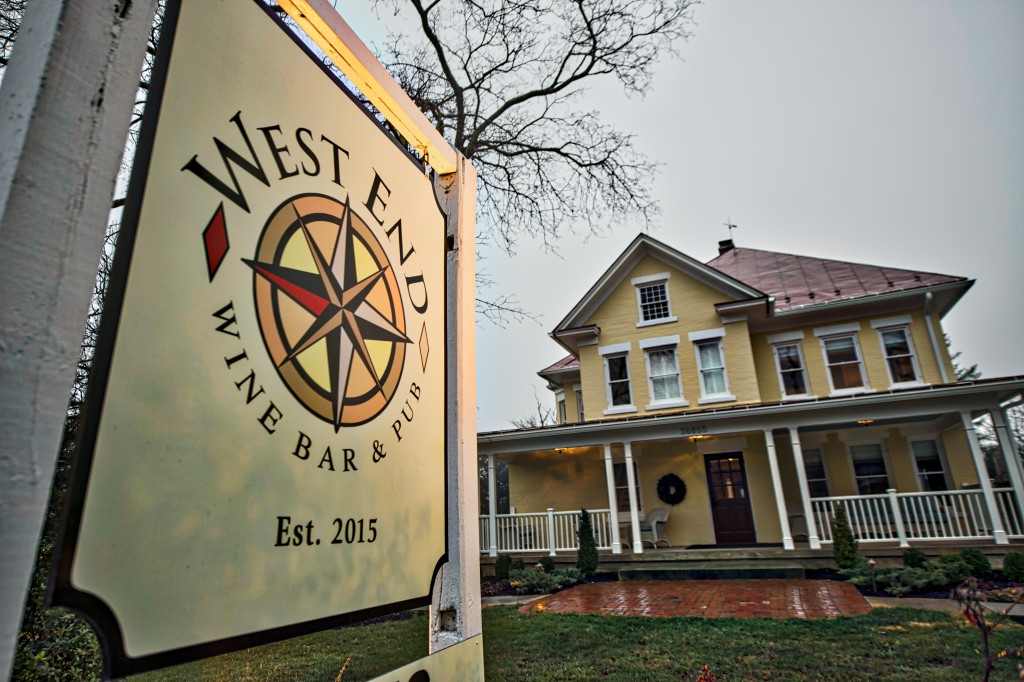 The old Purcellville Inn is reopening as the West End Wine Bar & Pub. The new restaurant opens this week as the newest fine dining restaurant in Western Loudoun County. (Photo by Douglas Graham/Loudoun Now)