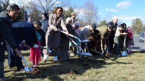 ADAMS Center Groundbreaking