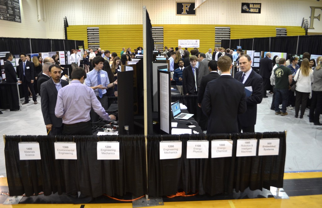 This year's fair involved 230 students, 163 projects and close to 200 judges. (Danielle Nadler/Loudoun Now)